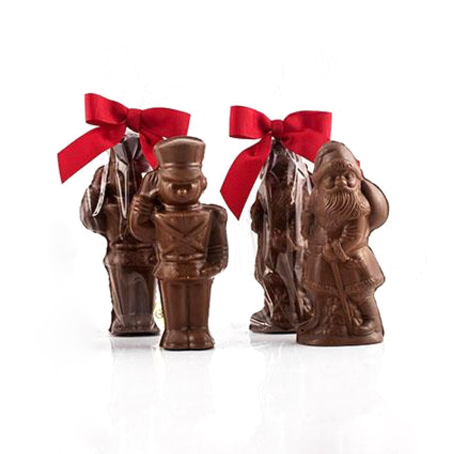 Christmas Chocolate Figurines