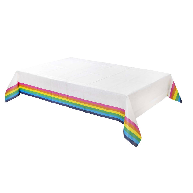Birthday Brights Rainbow Tablecover