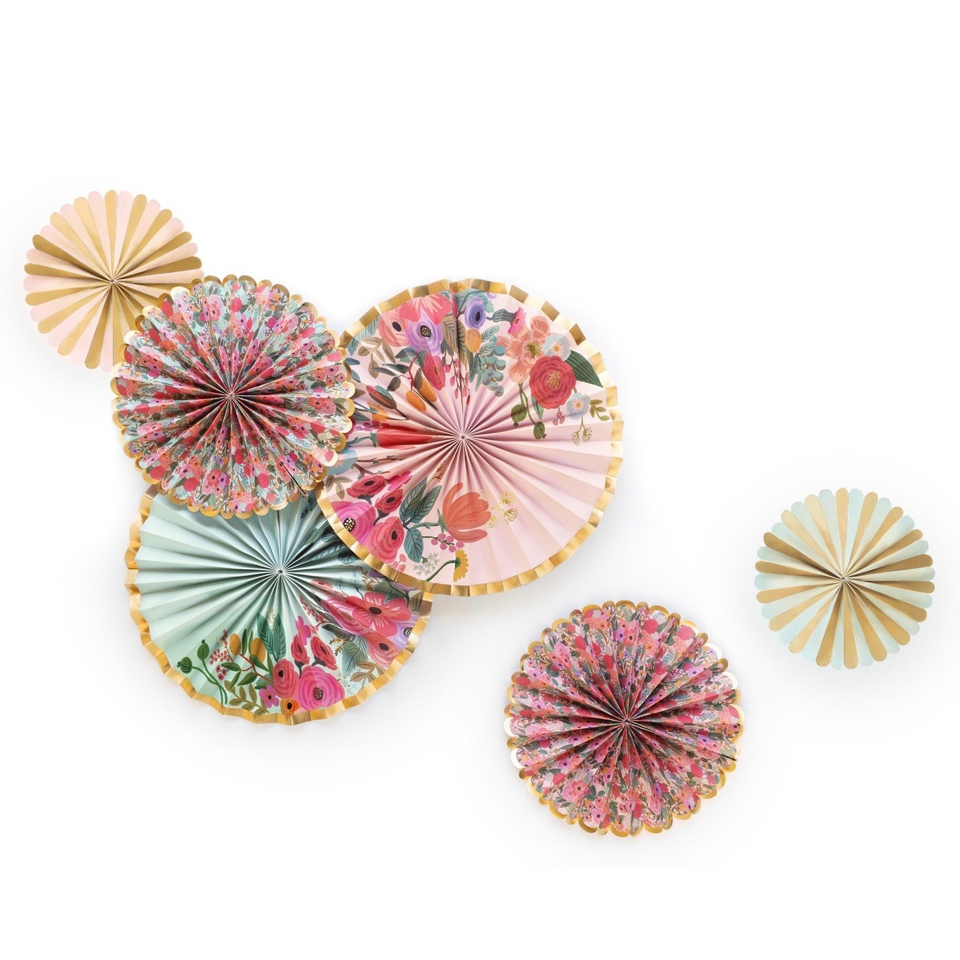 Rifle Paper Co. Garden Party Fans | Le Petite Putti