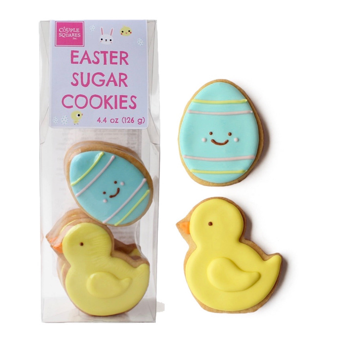 A Couple of Squares Egg and Chic Sugar Cookie Bag  | Le Petite Putti Celebrations Canada