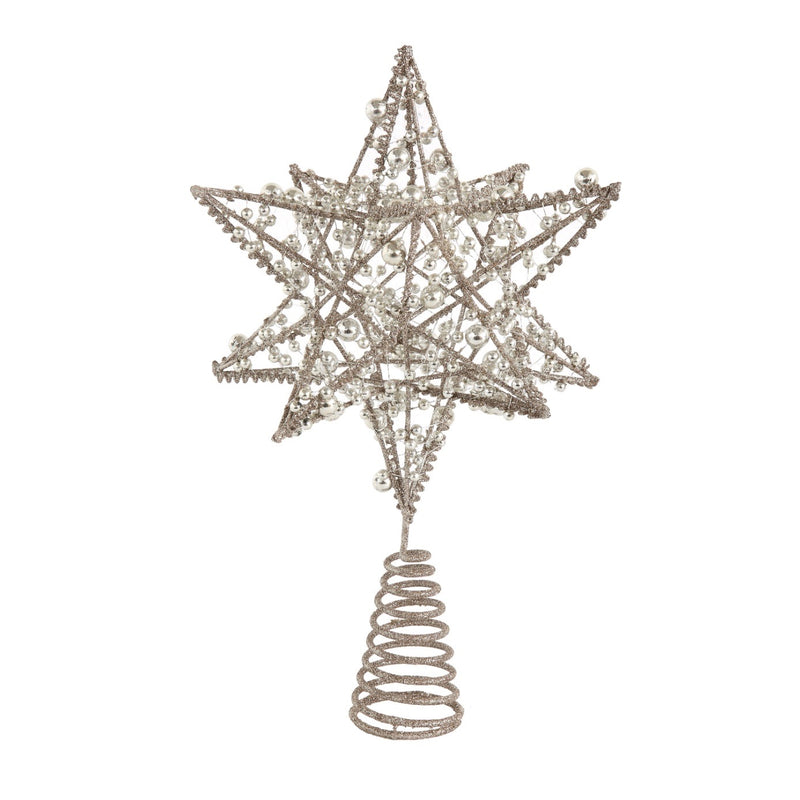 Creative Co op Wire Star Christmas Tree Topper - Putti Christmas Canada