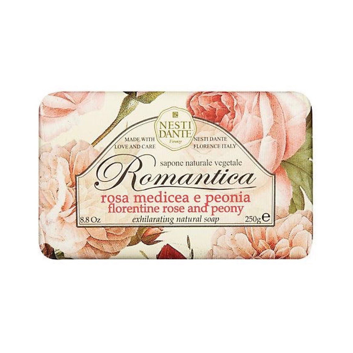 Nesti Dante Romantica Rose & Peony Soap | Putti Fine Furnishings