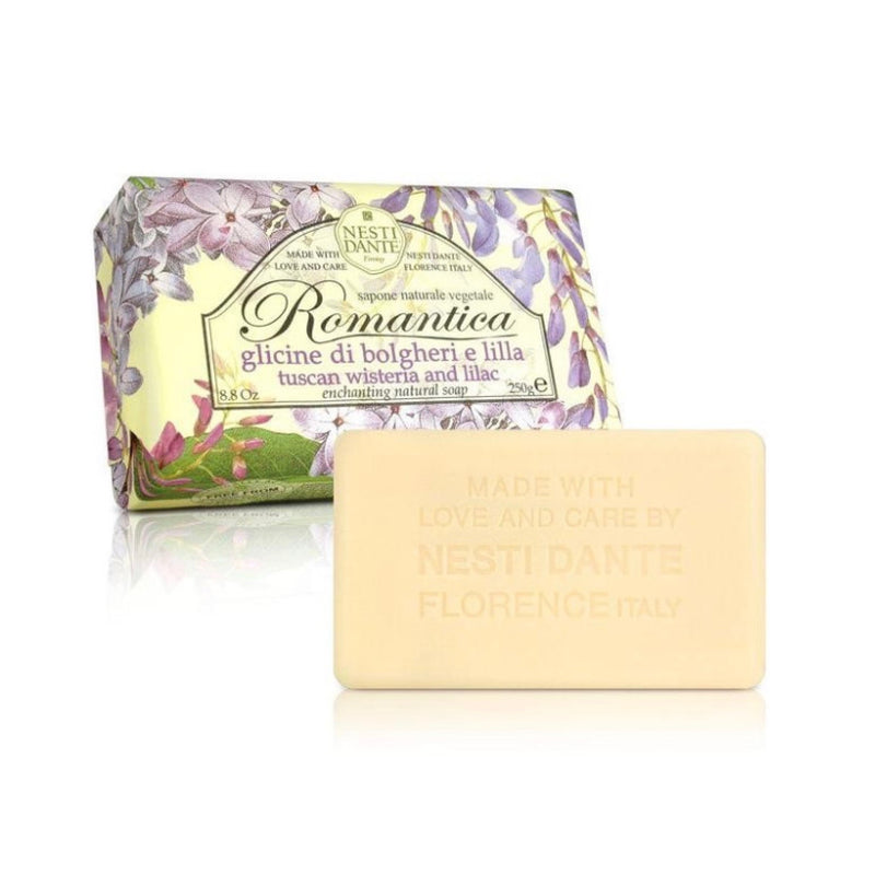 Nesti Dante Romantica Wisteria & Lilac Soap | Putti Fine Furnishings