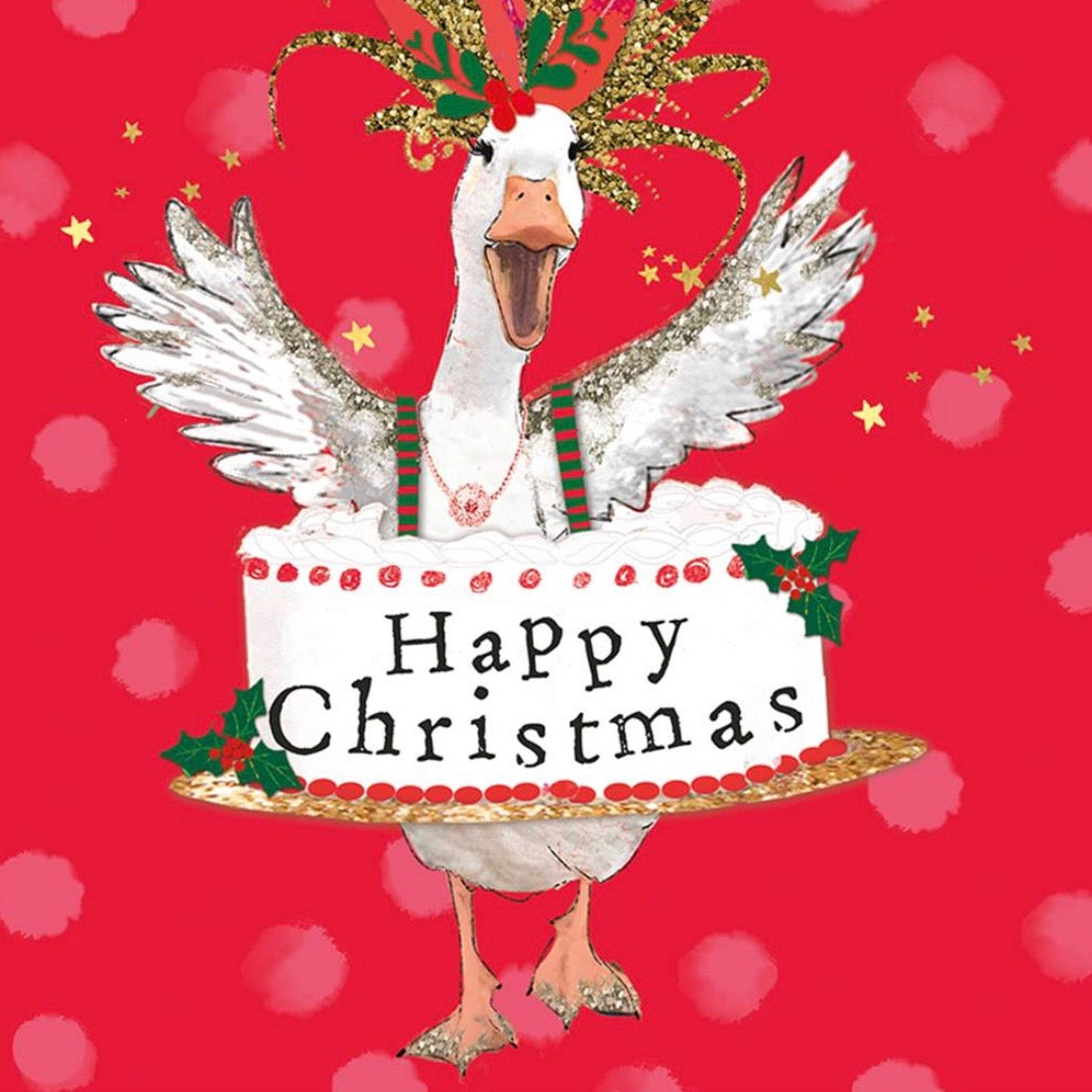 "Goose ""Merry Christmas"" Christmas Card Pack"