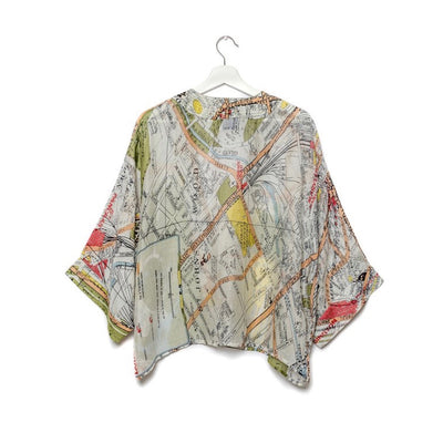 One Hundred Stars - London Short Kimono