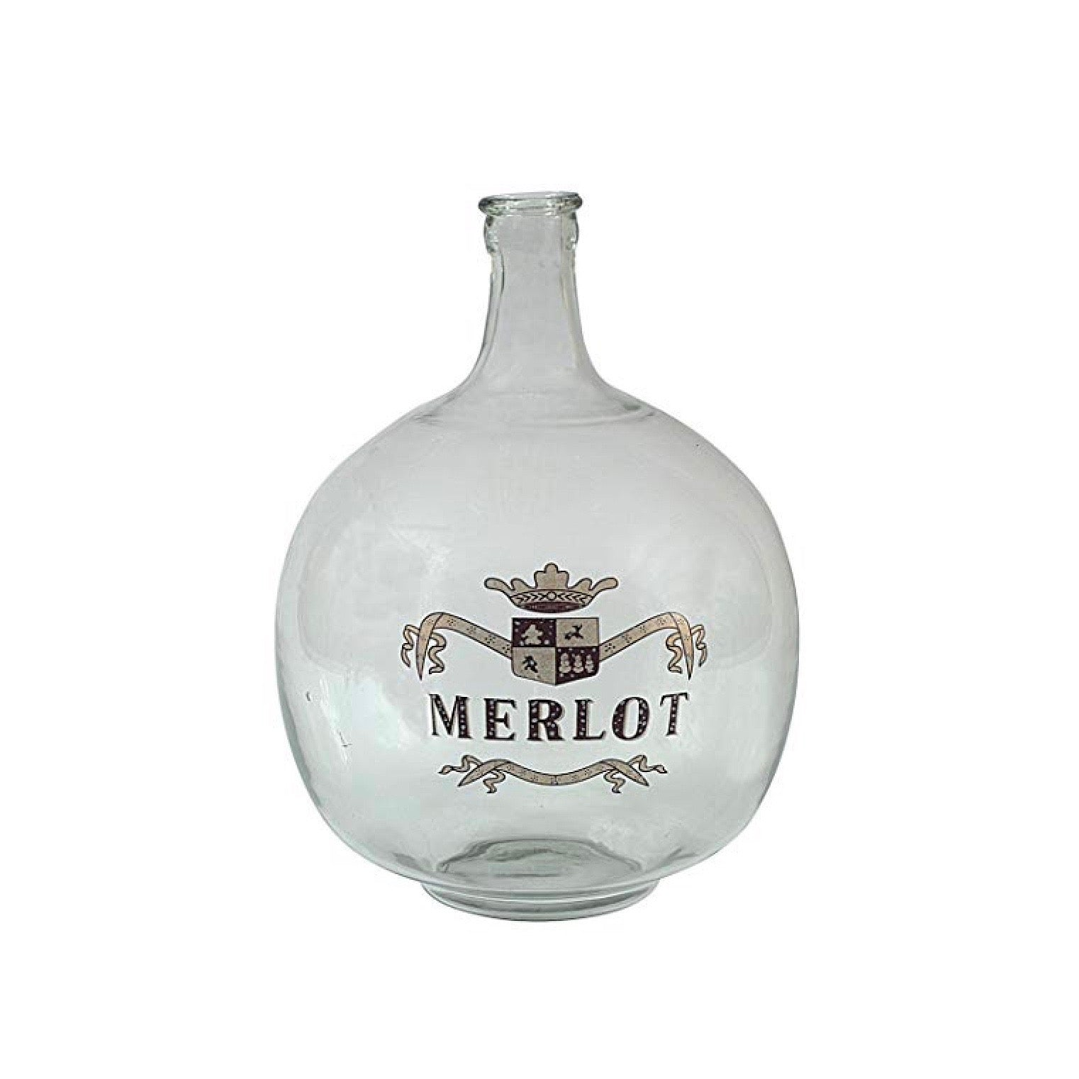 Merlot Glass Bottle