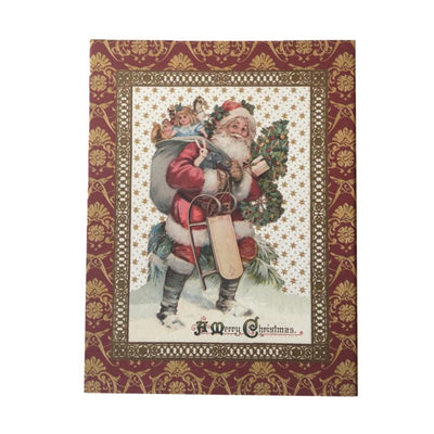 CR Gibson Old St Nick Boxed Christmas Cards | Putti Celebrations