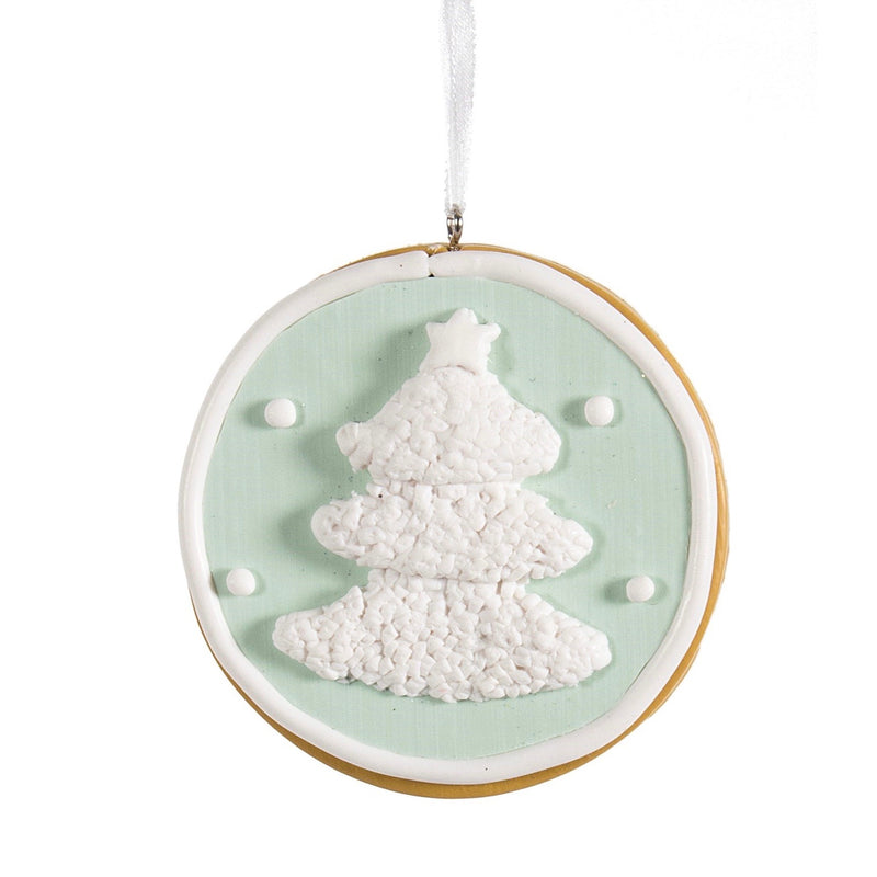 Christmas Tree Mint Green Cookie Ornament