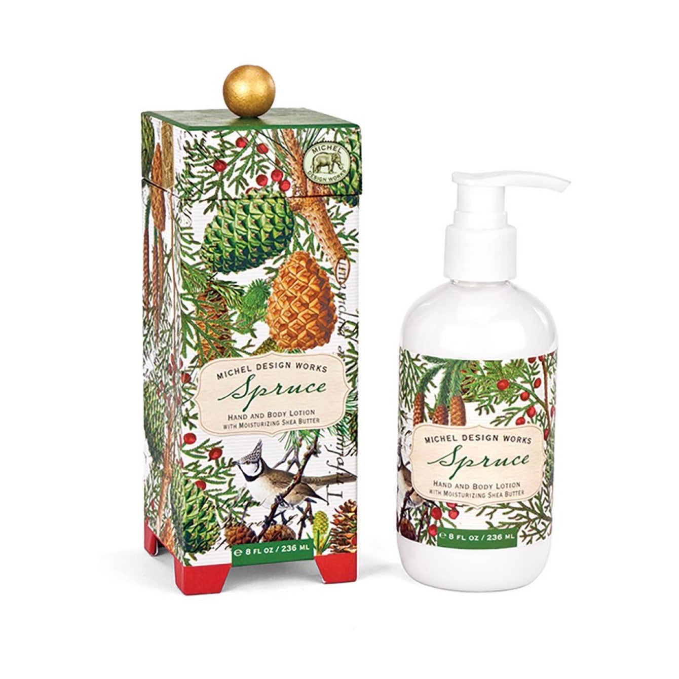 Michel Design Works Spruce Lotion | Putti Christmas Celebrations