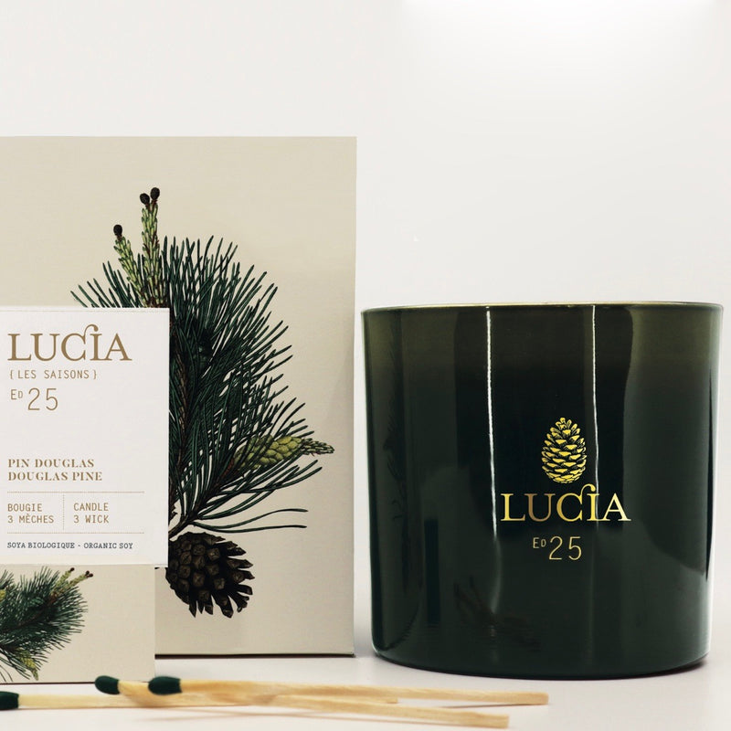 Lucia Les Saison 3 Wick Scented Candle | Putti Fine Furnishings