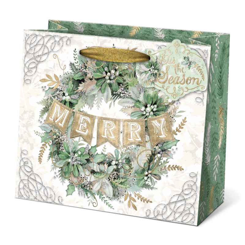 Winter Greens Gift Bag - Medium | Putti Christmas Canada