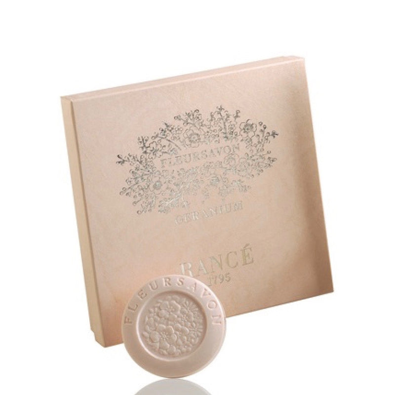 Rance Fleur Savon Soap - Geranium, RAN-Rance, Putti Fine Furnishings