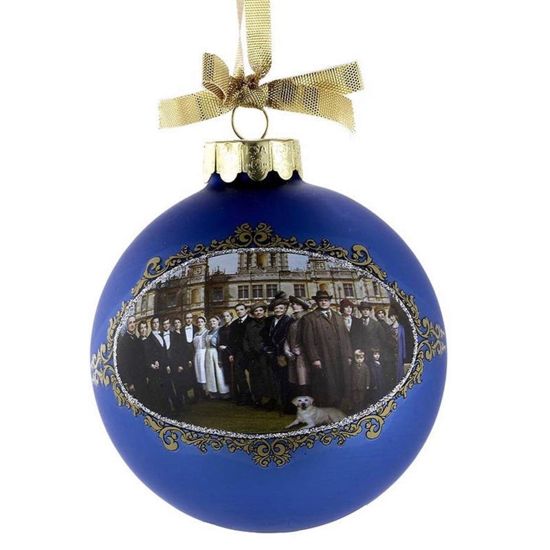 Kurt Adler Downton Abbey® Season 5 Glass Ball Ornament | Putti Christmas Decorations