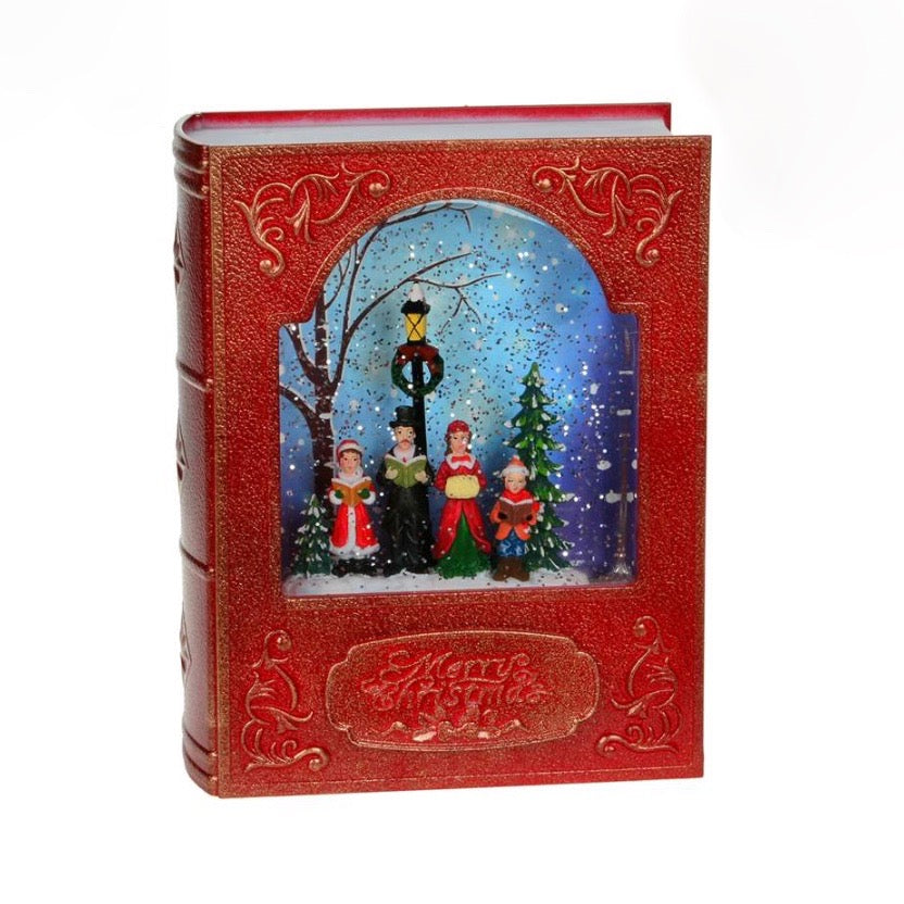 Carollers Book with Light | Putti Christmas Celebrations
