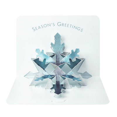 Snowflake Pop Up Boxed Christmas Cards | Putti Christmas Celebrations
