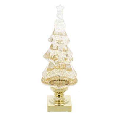 LED Light Up Shimmer Gold Tree  | Putti Christmas Celebrations Canada