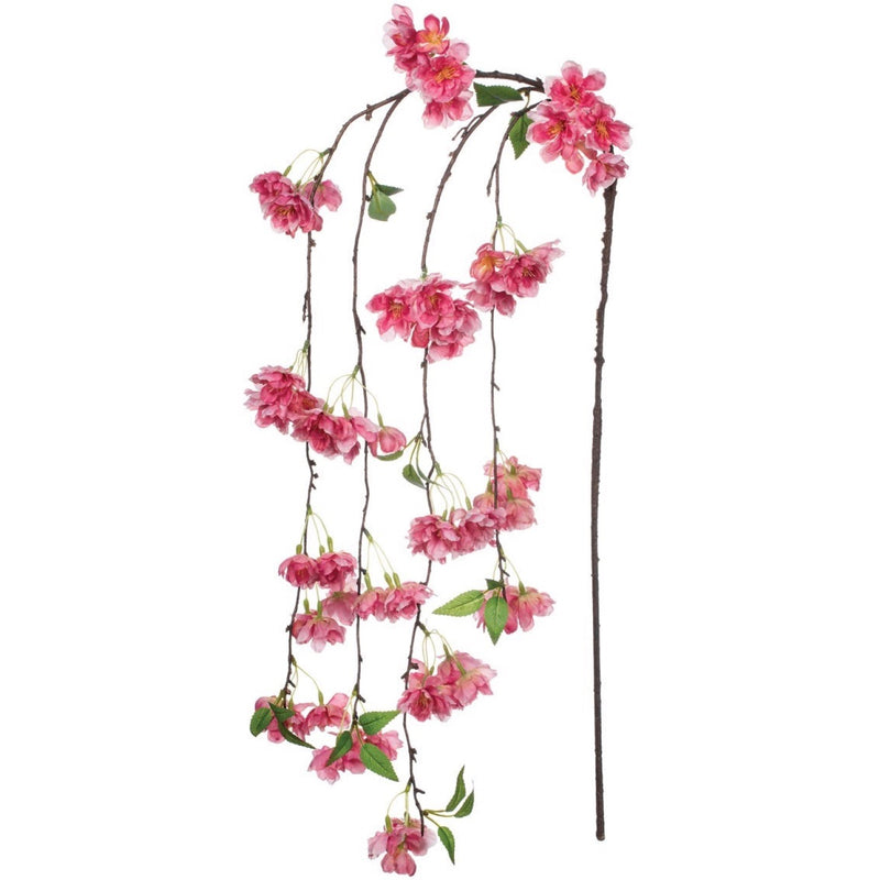 Sullivan's Weeping Pink Cherry Blossom Stem | Putti Fine Furnishings
