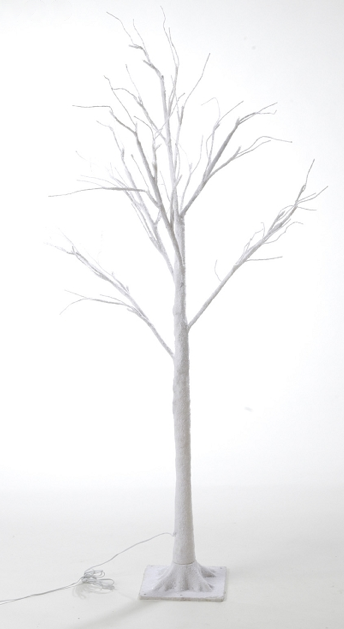 Large White LED Tree