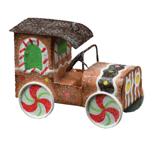 Gingerbread Car Ornament, CT-Christmas Tradition, Putti Fine Furnishings