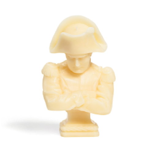 Cire Trudon Napoleon Wax Bust-Home Fragrance-CT-Cire Trudon-Black Napoleon Wax Bust-Putti Fine Furnishings