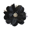 Miss Rose Sister Violet Velvet & Lace Flower Brooch Black, MRSV-Miss Rose Sister Violet, Putti Fine Furnishings