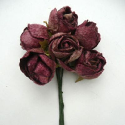 Miss Rose Sister Violet Dogwood Rose Posy
