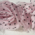 Miss Rose Sister Violet Small Ruffle Rose Braid Pink with Black Polka Dots, MRSV-Miss Rose Sister Violet, Putti Fine Furnishings