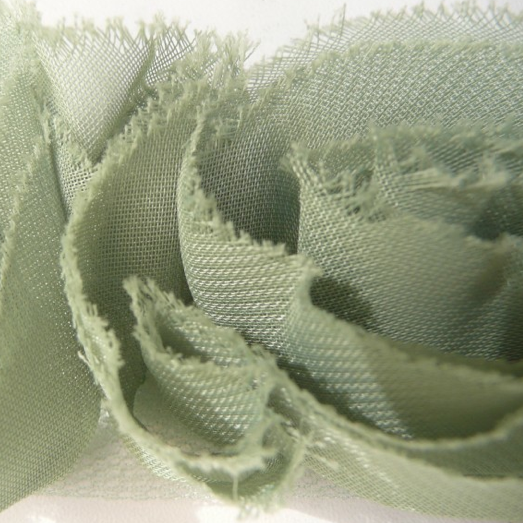 Miss Rose Sister Violet Small Ruffle Rose Braid Green, MRSV-Miss Rose Sister Violet, Putti Fine Furnishings