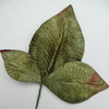 Miss Rose Sister Violet Velvet Leaves - Mid Green, MRSV-Miss Rose Sister Violet, Putti Fine Furnishings