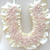 Miss Rose Sister Violet Satin Beaded Wedding Horse Shoe Decoration, MRSV-Miss Rose Sister Violet, Putti Fine Furnishings