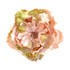 Miss Rose Sister Violet Cabbage Rose - Peach, MRSV-Miss Rose Sister Violet, Putti Fine Furnishings