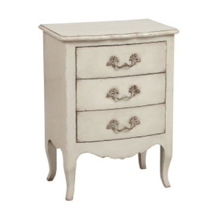 """Madeline"" Chest of Drawers - Off White, Higher Ground, Putti Fine Furnishings"