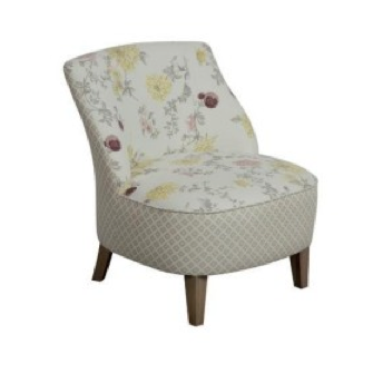 "Mid Century ""Dahlia"" Accent Chair"