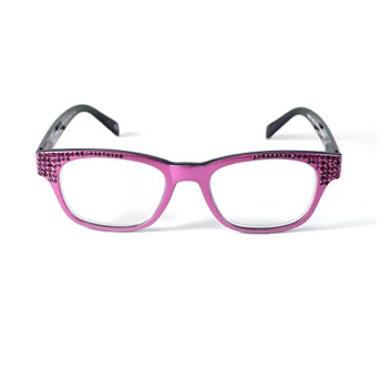 Jimmy Crystal Birthstone Readers - July Fuchsia, Jimmy Crystal, Putti Fine Furnishings