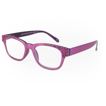 Jimmy Crystal Birthstone Readers - July Fuchsia