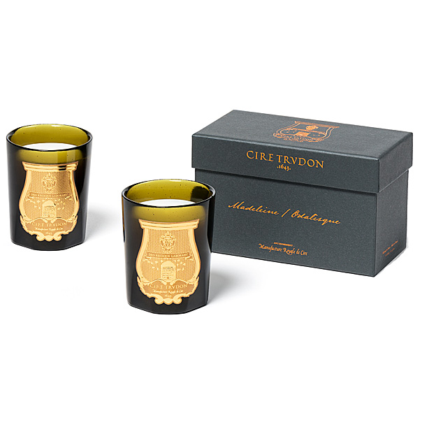 Cire Trudon Madeleine & Odalisque Iconic Duet Mini Candle Set