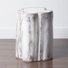 Whitewash Tree Stump Resin Side Table, T&T-Torre & Tagus, Putti Fine Furnishings