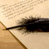 Figments Studio - Ballpoint Feather Pen, Board and Batten, Putti Fine Furnishings