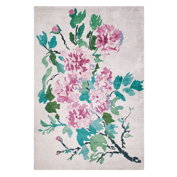 Designers Guild Shanghai Garden Peony Rug | Putti Fine Furnishings