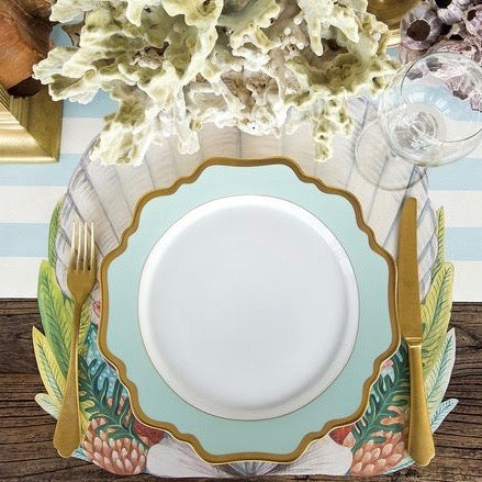Hester & Cook Die-Cut Shell Placemat