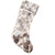 Silver Sequin Stocking -  Christmas - WC-Winward Canada - Putti Fine Furnishings Toronto Canada