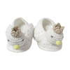 Albetta Crochet Swan Booties, AUK-Albetta UK, Putti Fine Furnishings