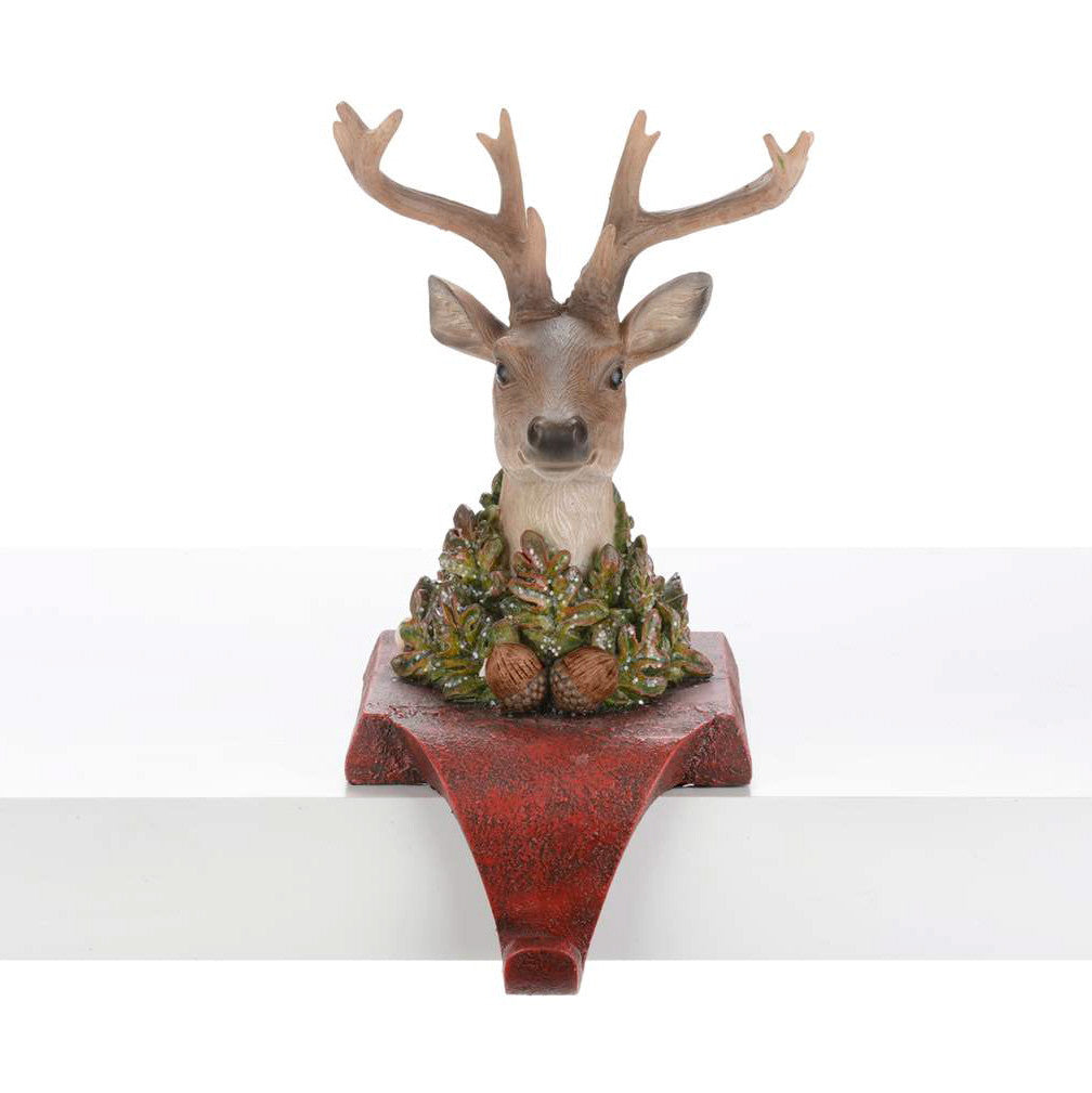 Deer Head Stocking Holder