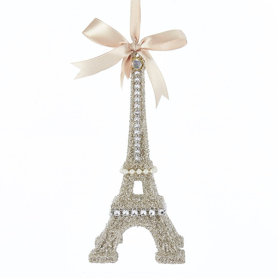 Vintage Glamour Eiffel Tower Ornament