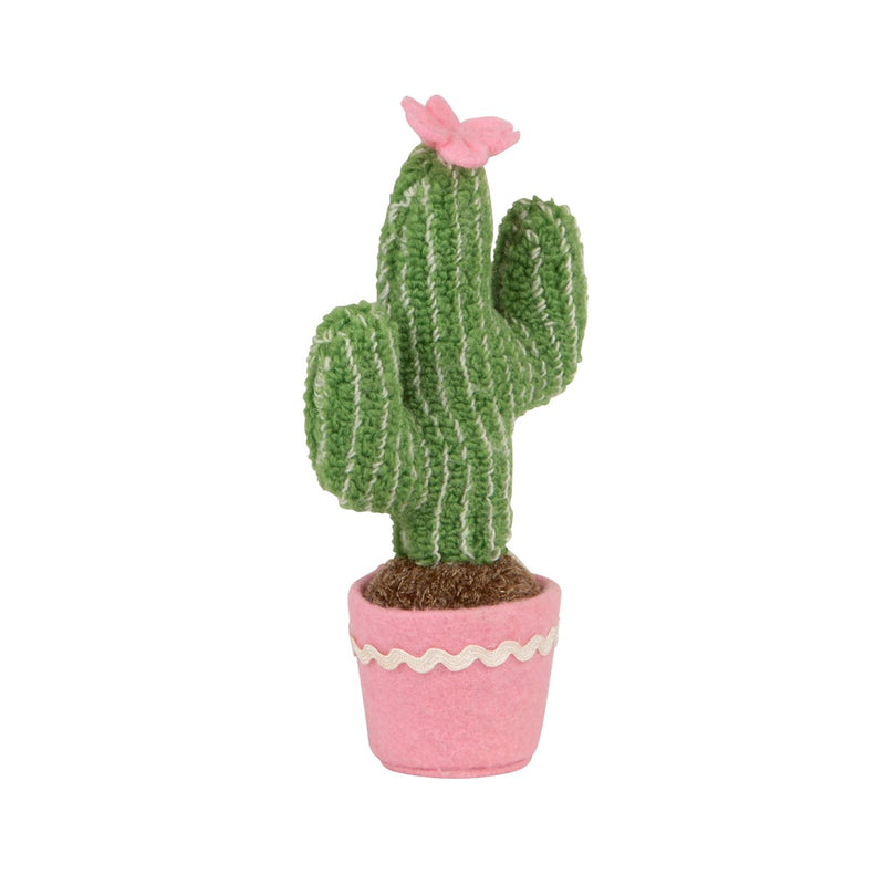 Pastel Cactus Mini Fabric Decoration, RJBS-RJB Stone, Putti Fine Furnishings