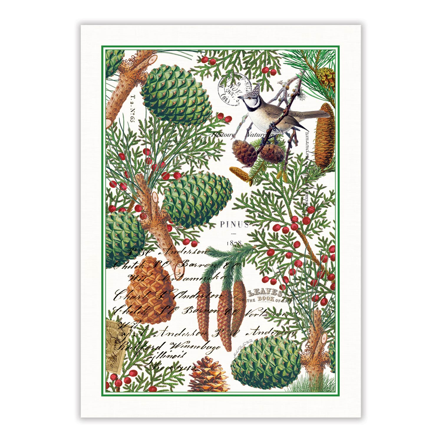 """Spruce"" Kitchen Towel, MDW-Michelle Design Works - David Youngston, Putti Fine Furnishings"