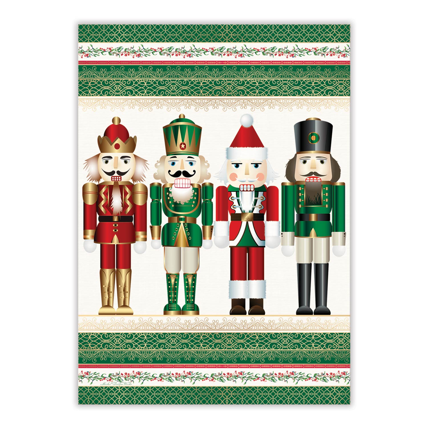 "Michel Design ""Nutcracker"" Kitchen Towel"