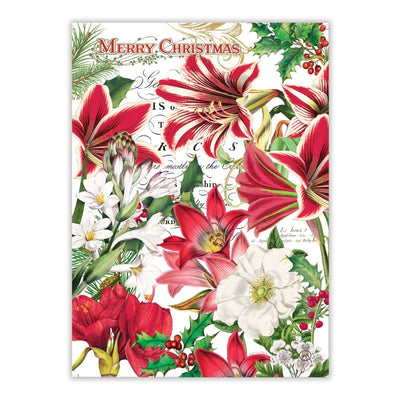 "Michel Design ""Merry Christmas"" Kitchen Towel - Set of 2"