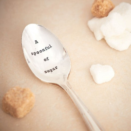 """A Spoonful of Sugar"" Vintage Tea Spoon"
