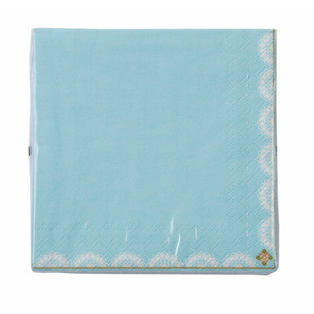 Truly Scrumptious Blue Beverage Napkin, TT-Talking Tables, Putti Fine Furnishings